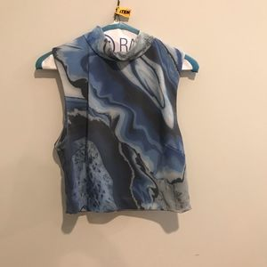 Marbled Two Piece Dress